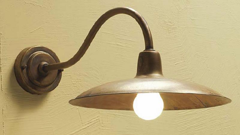 Plafoniera Ottone Esterno : Illuminazione esterno febo negozio lampade