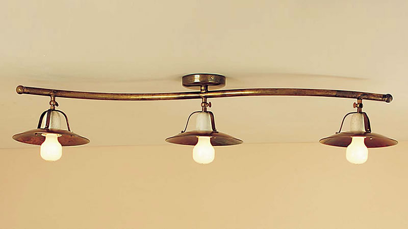 Plafoniere Con Lampadine : Plafoniere lampade da soffitto