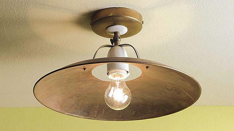 Plafoniere Rustiche Soffitto : Plafoniere lampade da soffitto