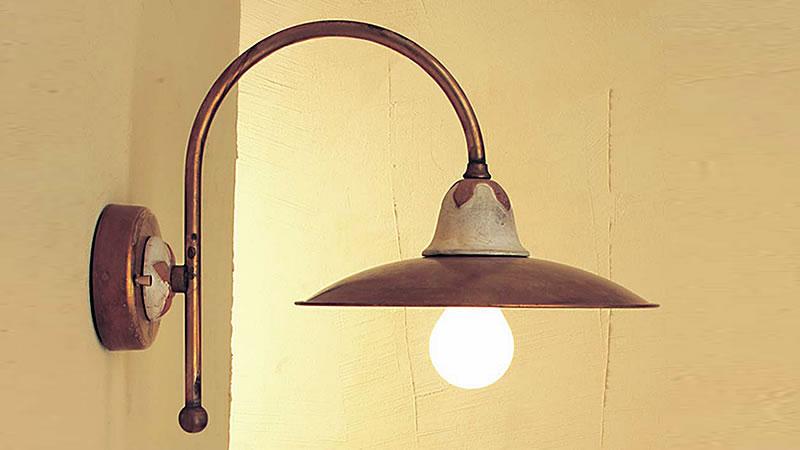 Plafoniere Da Parete Da Esterno : Applique lampade da parete