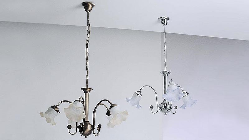 Lampadario ottone luci con negozio illuminazione siena firenze
